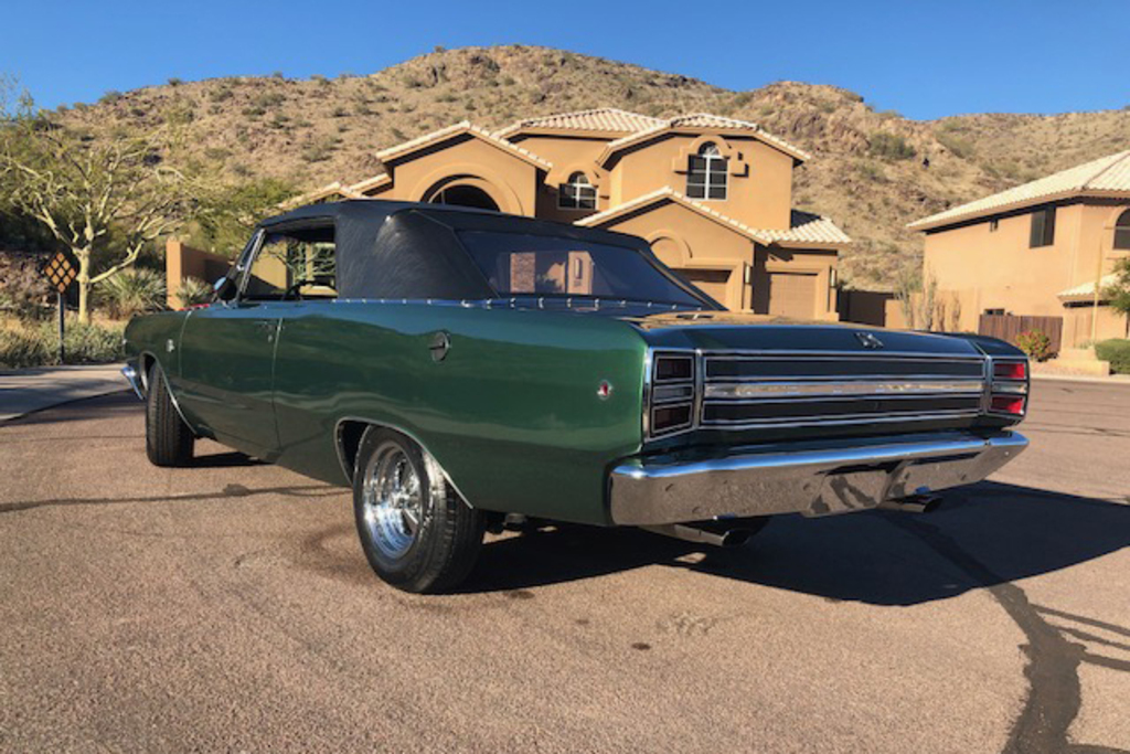 1968 Dodge Dart Gts Convertible Collector Cars Online Auctions Proxibid