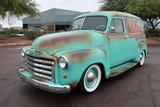 1951 GMC 3100 CUSTOM PANEL VAN