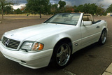 1998 MERCEDES-BENZ SL500 ROADSTER