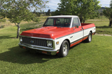 1972 CHEVROLET C10 SUPER CHEYENNE CUSTOM PICKUP