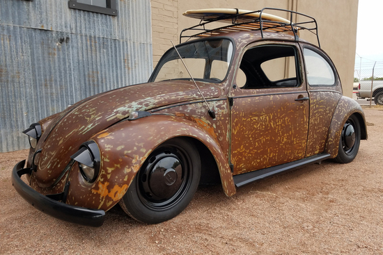 1972 VOLKSWAGEN BEETLE CUSTOM COUPE