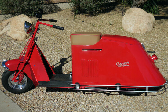 1948 CUSHMAN PACEMAKER SCOOTER