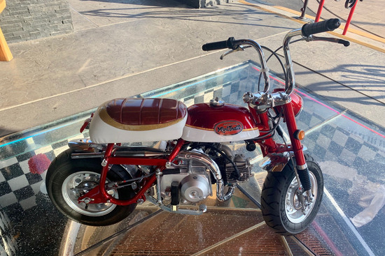 1970 HONDA Z50 CUSTOM MINI-BIKE