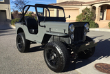1955 JEEP WILLYS CUSTOM CONVERTIBLE