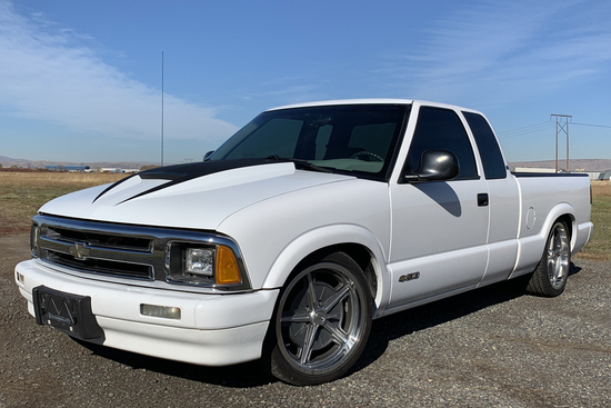 1995 CHEVROLET S-10 CUSTOM PICKUP