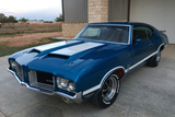 1971 OLDSMOBILE 442 COUPE