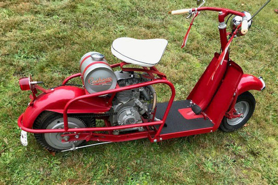 1958 CUSHMAN HIGHLANDER SCOOTER