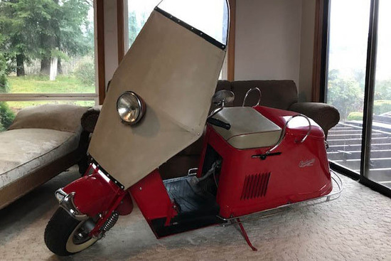 1948 CUSHMAN SERIES 50 SCOOTER