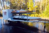 1970 DESILVA 10.5-FOOT RACE BOAT