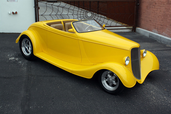 1933 FORD CUSTOM TOPLESS ROADSTER
