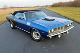 1971 PLYMOUTH BARRACUDA HEMI CONVERTIBLE RE-CREATION