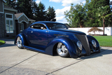 1937 FORD 5-WINDOW CUSTOM COUPE