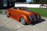 1939 FORD ROADSTER CUSTOM HARDTOP CONVERTIBLE