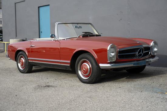 1965 MERCEDES-BENZ 230SL ROADSTER