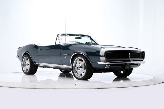 1967 CHEVROLET CAMARO CUSTOM CONVERTIBLE