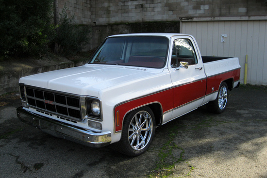 1977 GMC 1500 CUSTOM PICKUP