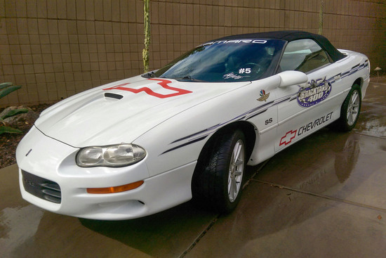 2000 CHEVROLET CAMARO INDY PACE CAR CONVERTIBLE