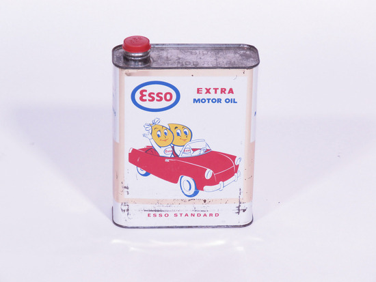 LATE 1950S-EARLY '60S ESSO MOTOR OIL TIN
