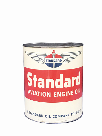 1950S STANDARD OIL AVIATION OIL CAN