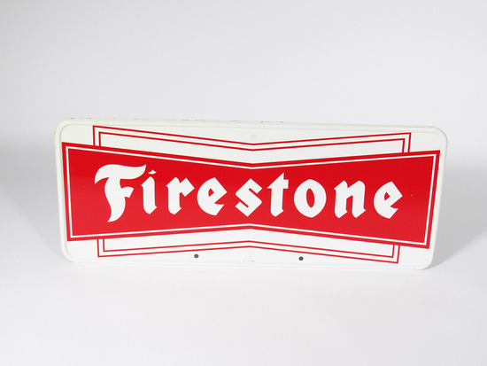 1960S FIRESTONE TIRES TIN SIGN