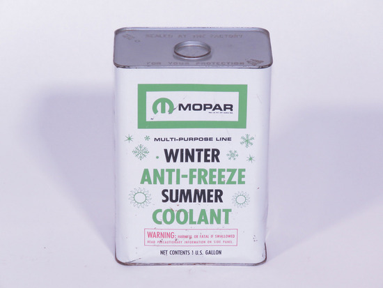 CIRCA 1960S MOPAR ANTI-FREEZE SUMMER COOLANT TIN