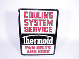 1950S THERMOID COOLING SYSTEM SERVICE TIN SIGN