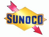 VINTAGE SUNOCO OIL LIGHT-UP ARROW/LOGO SIGN