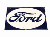 1930S FORD AUTOMOBILES PORCELAIN SIGN