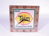 LATE 1960S TEEM LIGHT-UP CLOCK