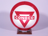 CIRCA 1950S CONOCO GASOLINE GAS PUMP GLOBE