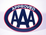 CIRCA 1950S-60S AAA APPROVED PORCELAIN SIGN