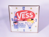 EARLY 1960S VESS COLA LIGHT-UP CLOCK