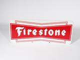1960S FIRESTONE TIRES TIN SIGN
