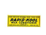 1930S-40S RAPID-KOOL MILK CONDITIONER TIN SIGN