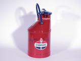 1920S-30S STANDARD OIL BULK GAS/OIL CAN