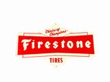 ADDENDUM ITEM - NICE CIRCA 1950S FIRESTONE TIRES