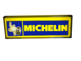 VINTAGE MICHELIN TIRES LIGHT-UP SIGN