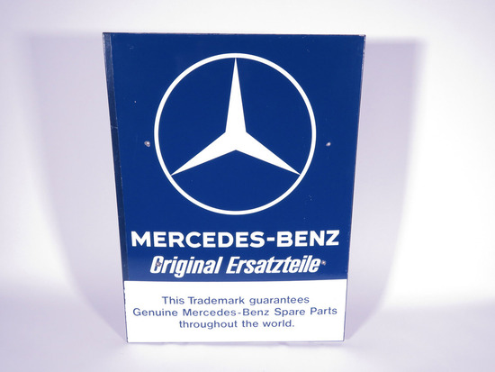 1960S MERCEDES-BENZ PORCELAIN SIGN