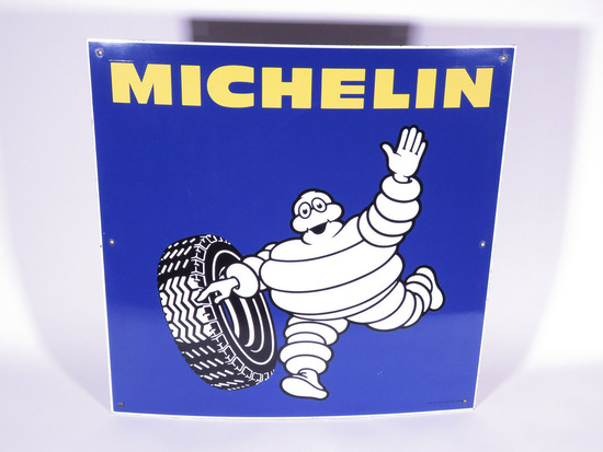 VINTAGE MICHELIN TIRES PORCELAIN SIGN