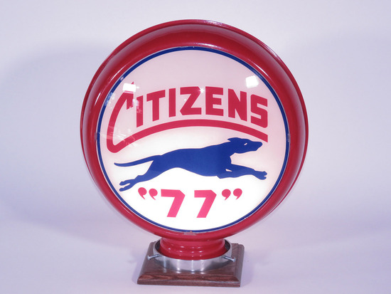 1930S CITIZENS 77 GASOLINE GAS PUMP GLOBE