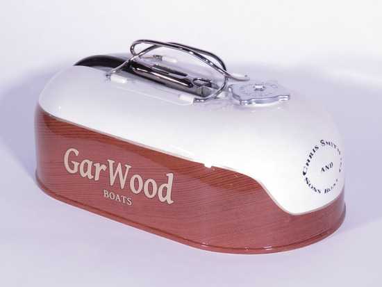 1930S GARWOOD BOATS EMERGENCY GAS TANK