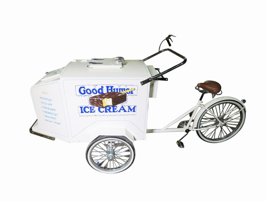 VINTAGE GOOD HUMOR ICE CREAM VENDOR'S BICYCLE