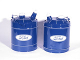LOT OF TWO 1940S-50S FORD MULTI-FLUID TINS