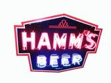 1930S-40S HAMM'S BEER NEON PORCELAIN SIGN