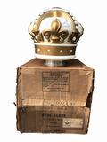 1940S-50S STANDARD OIL GOLD CROWN GASOLINE GAS PUMP GLOBE