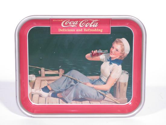 1940 COCA-COLA METAL SERVING TRAY