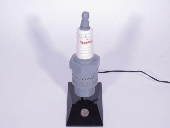 EARLY 1950S CHAMPION SPARK PLUGS RADIO