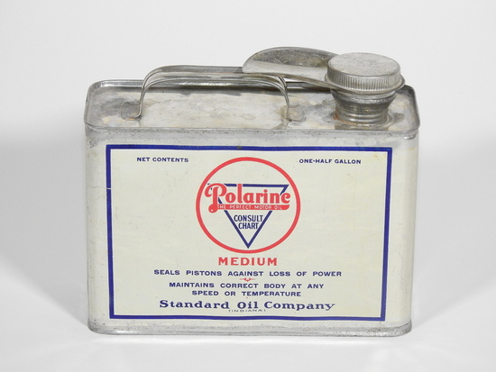 LATE TEENS STANDARD OIL POLARINE TIN
