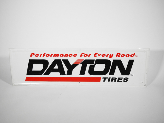 VINTAGE DAYTON TIRES TIN SIGN