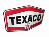 LATE 1950S-EARLY '60S TEXACO OIL PORCELAIN SIGN